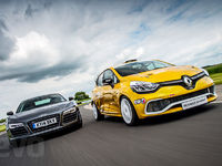 Qui de la Renault Clio Cup ou de l'Audi R8 V10 Plus est la plus rapide ?