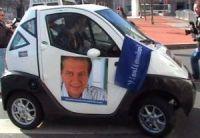 Elections municipales 2008 à Lyon : Dominique Perben propose un système de voitures électriques en libre-service
