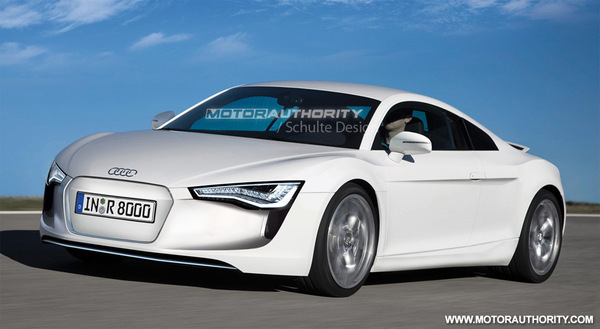 Audi R8 ePerformance : comme ça ?