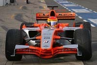 L'écurie Spyker MF1 Racing s'abstient