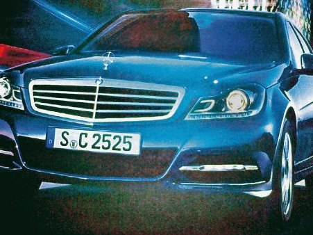 Est-ce bien la future Mercedes Classe C sans camouflage ?