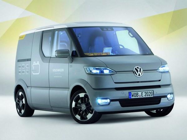 Volkswagen eT! concept, la voiture du facteur allemand