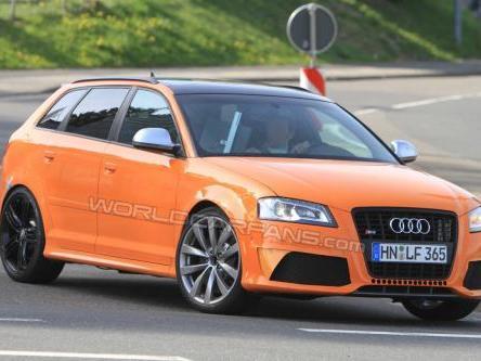Audi RS3 : encore plus puissante que la TT-RS