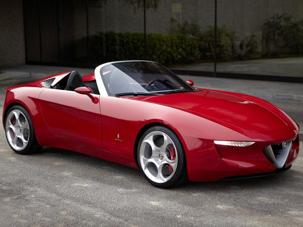 Alfa Romeo préparerait une concurrente de la Mazda MX-5