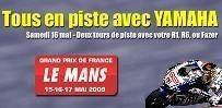 Yamaha France vous offre les sensations du Bugatti