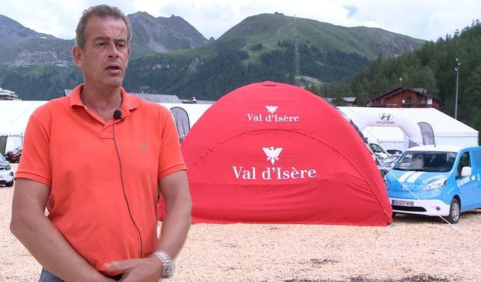 """Salon de Val d'Isère 2017 - Frédéric Cretin : """"L'électrique, c'est l'avenir ! """" (Interview vidéo)"""