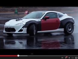 Drift : une Toyota GT86 avec un V8 de Nascar