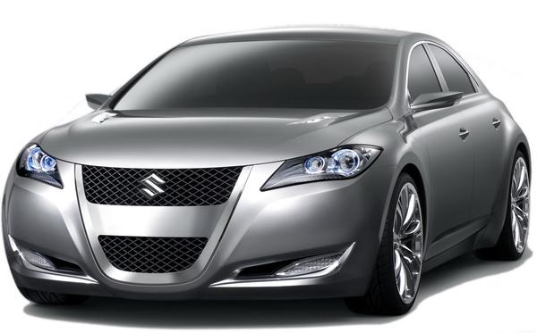 New York 2008 : Suzuki Kizashi 3 Concept, vrai show-car !