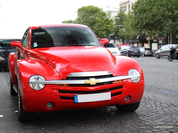 Photos du jour : Chevrolet SSR