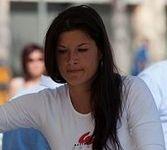 Ludivine Puy chute à l'Enduro Maya Marseille Maroc Ipone