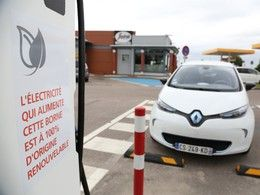 Un nouveau réseau de 200 bornes de recharge implanté en France