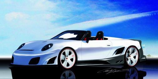 9FF GT9-R Convertible : 1120ch et 414 km/h les cheveux au vent