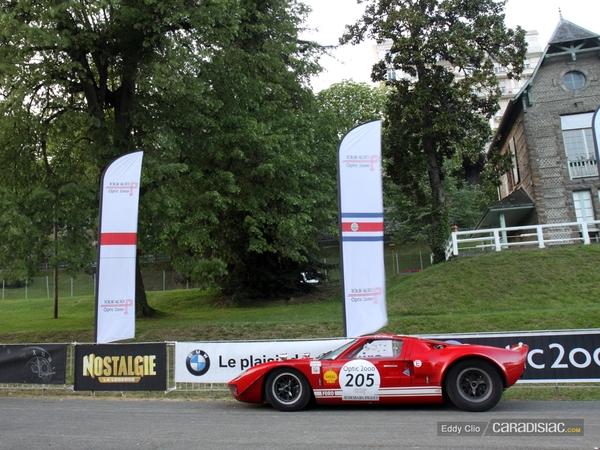 Photos du jour : Ford GT40 (Tour Auto)