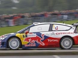 Les chiffres de la Citroën C4 WRC
