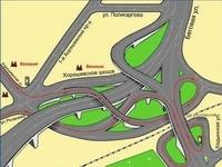 """Plus sournois que les """"roundabouts"""" anglais, le centre ville de Moscou !"""