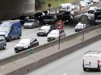 Périphérique à 70 km/h : les bouchons auraient diminué de plus d'un tiers selon une étude