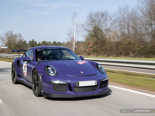 Photos du jour : Porsche 911 991 GT3 Rs (Rallye de Paris)