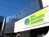 Gaz Electricité de Grenoble : son parking bénéficie d'un éclairage écolo !