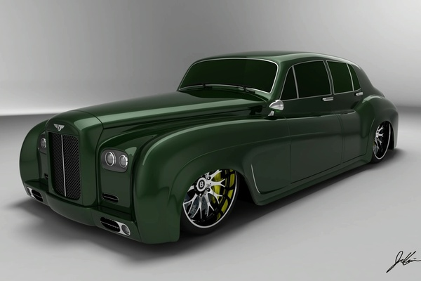 Design : Bentley S3 E Design Concept, the drag queen