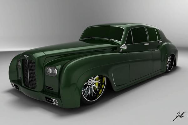 Design : Bentley S3 E Design Concept, the drag queen