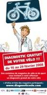 Bordeaux/France : opération Diagnostic gratuit de votre vélo du 16 au 29 février 2008