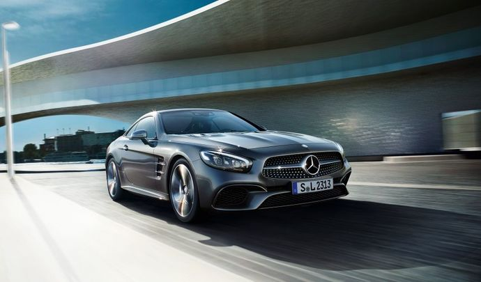 Une Mercedes SL plus sportive à venir