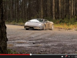 The Lamborghini WRC : bain de boue pour une Gallardo