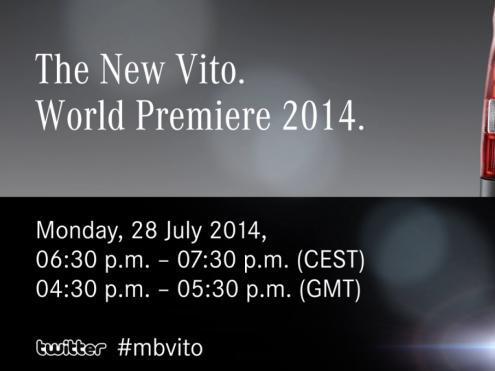 Le nouveau Mercedes Vito teasé