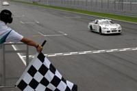 Speedcar Sepang course 2: Uwe Alzen, deuxième