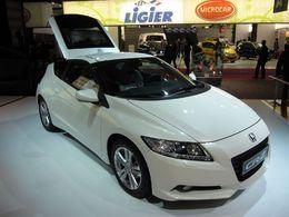 """Titre de """"Voiture de l'année 2010-2011"""" au Japon : le Honda CR-Z hybride décroche la 1ère place"""