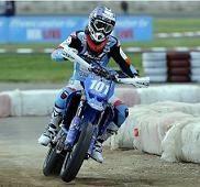 Thierry Van Den Bosch en tête du championnat Supermoto