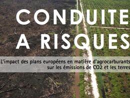 Un rapport accablant remet en cause la politique européenne sur les biocarburants
