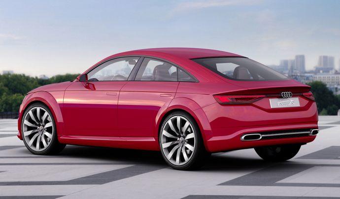 Audi TT: un avenir sous forme de berline?