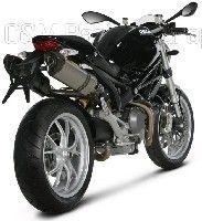 Akrapovic équipe la Ducati Monster 1100