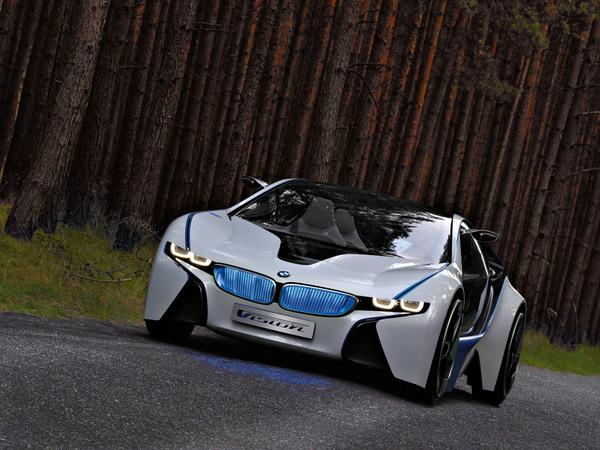 BMW Vision EfficientDynamics : toutes les infos, les photos et vidéos