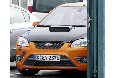 Future Ford Focus RS : le mulet