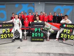AutoGP - DAMS défendra ses titres en 2011