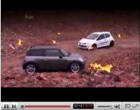 Vidéo Fifth Gear : Tiff et Mini Cooper S JCW vs Jason et Renault Clio RS Cup
