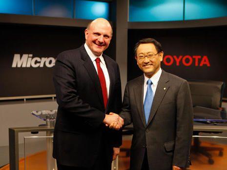 Toyota et Microsoft font cause commune