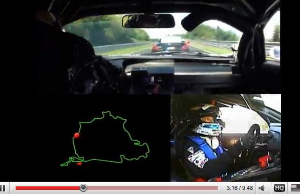 [vidéo] Embarquez dans la Lexus LF-A pour un tour du Nürburgring