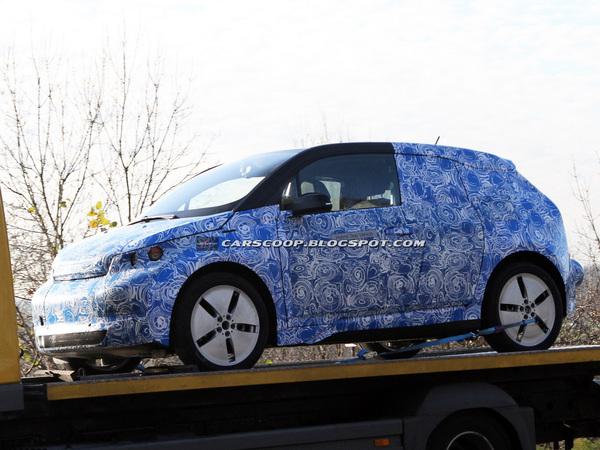 Surprise : première sortie pour la BMW i3  de série