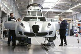 Francfort 2009 : Wiesmann construira une GT MF4 sur son stand