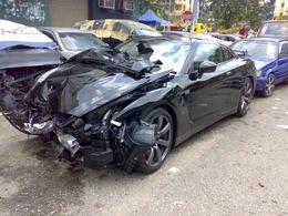 Facelift frontal pour Nissan GT-R : la noire est maudite !