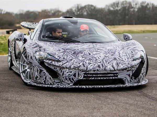Vidéo - La McLaren P1 sur la piste Top Gear