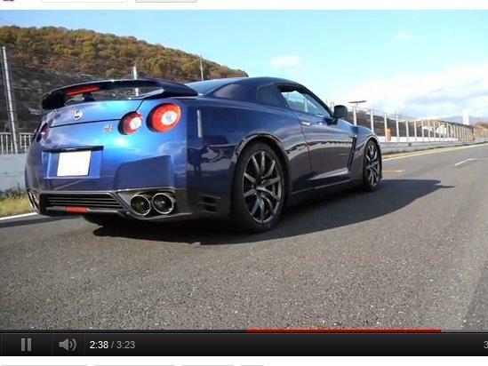 [vidéo] Nissan GT-R 2012 : le 0-100 km/h en 2.84s !