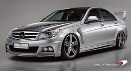 Mercedes Classe C Executive Line by WALD : virile et imminente !
