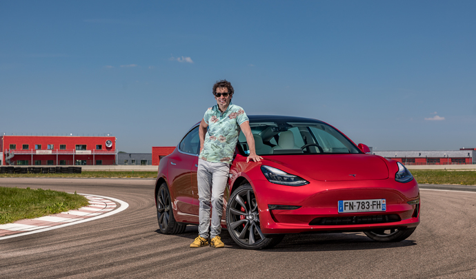 Les essais de Soheil Ayari - Tesla Model 3 Performance : court-circuit