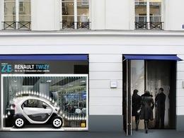 La Renault Twizy sera chez Colette du 5 au 10 décembre