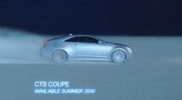 [vidéo pub] Cadillac sur orbite, le CTS Coupé dernier étage de la fusée