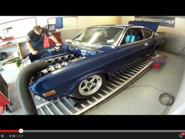 PPRE passe au banc sa Mazda RX-4 à moteur six rotors